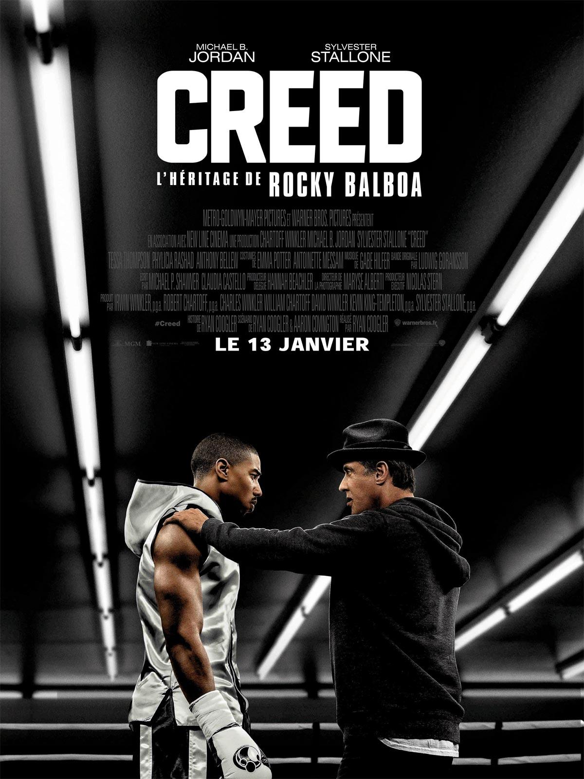 Achat Creed - L'Héritage de Rocky Balboa en DVD - AlloCiné