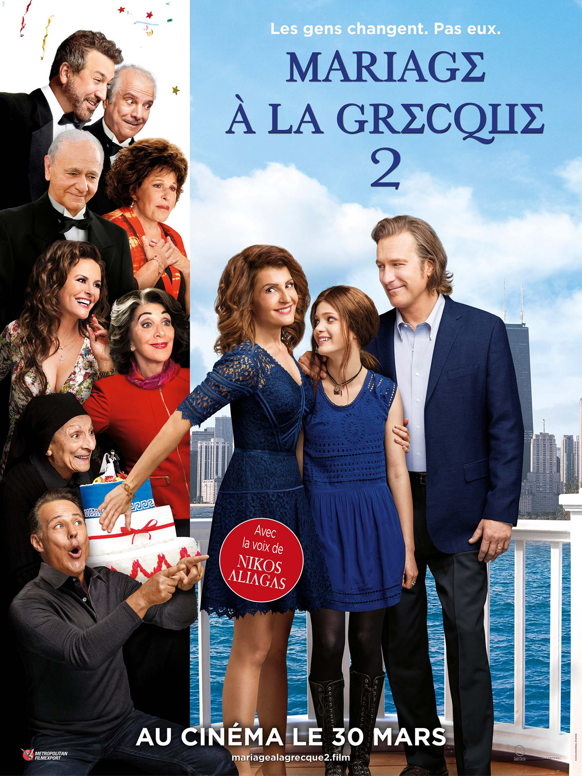 Mariage à la grecque 2 ddl