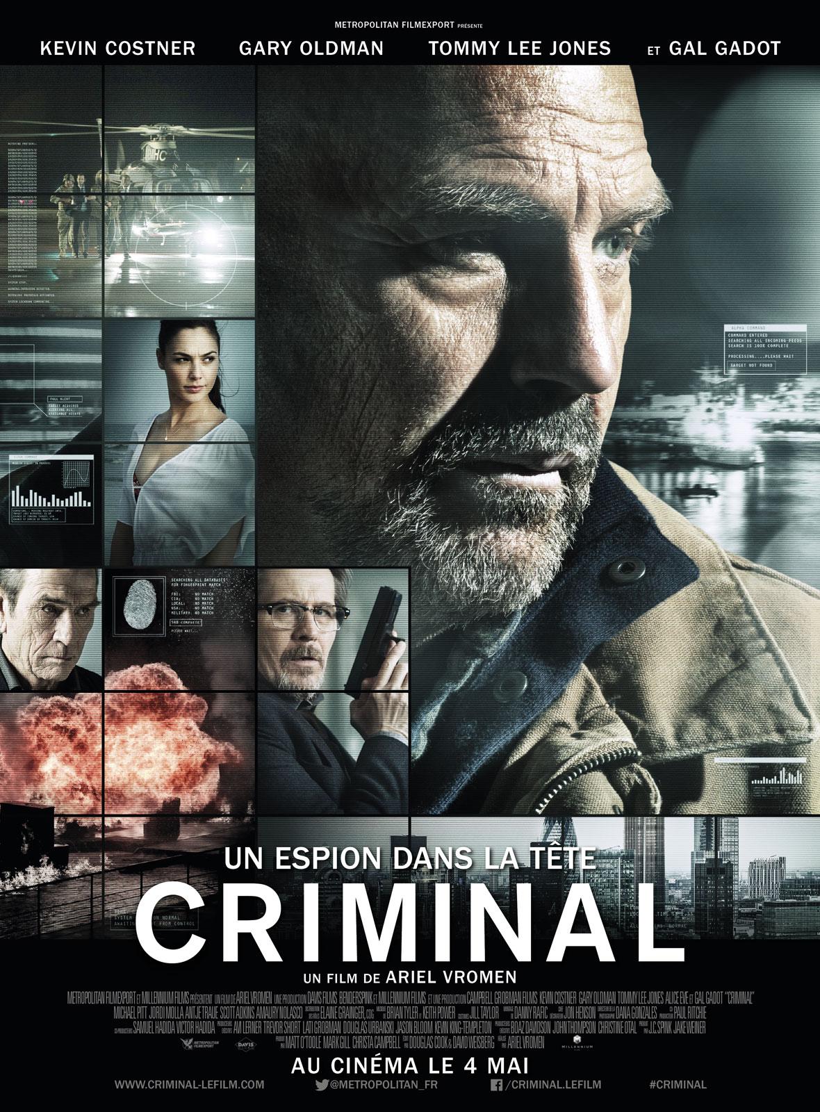 Criminal - Un espion dans la tête ddl