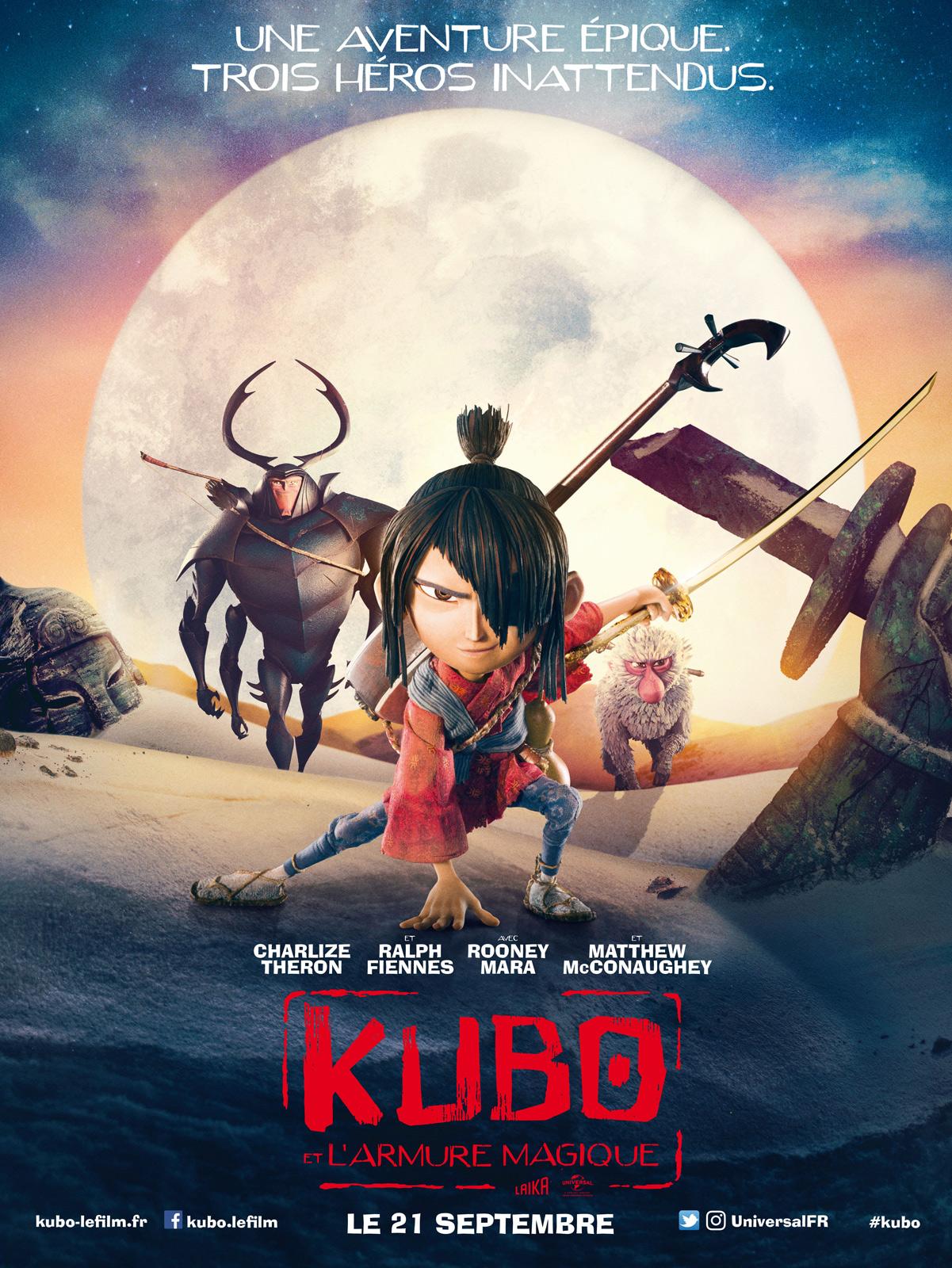 Kubo et l'armure magique ddl