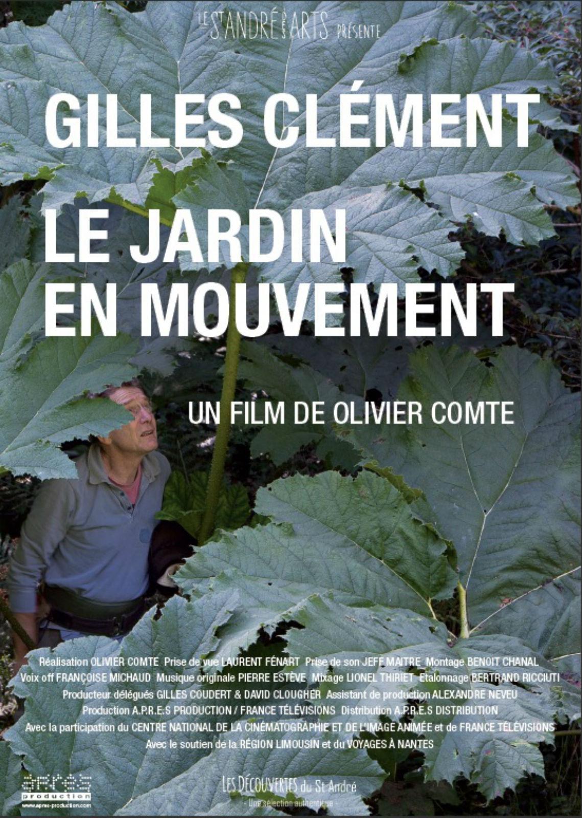 Gilles Clément, Le Jardin en mouvement en Streaming