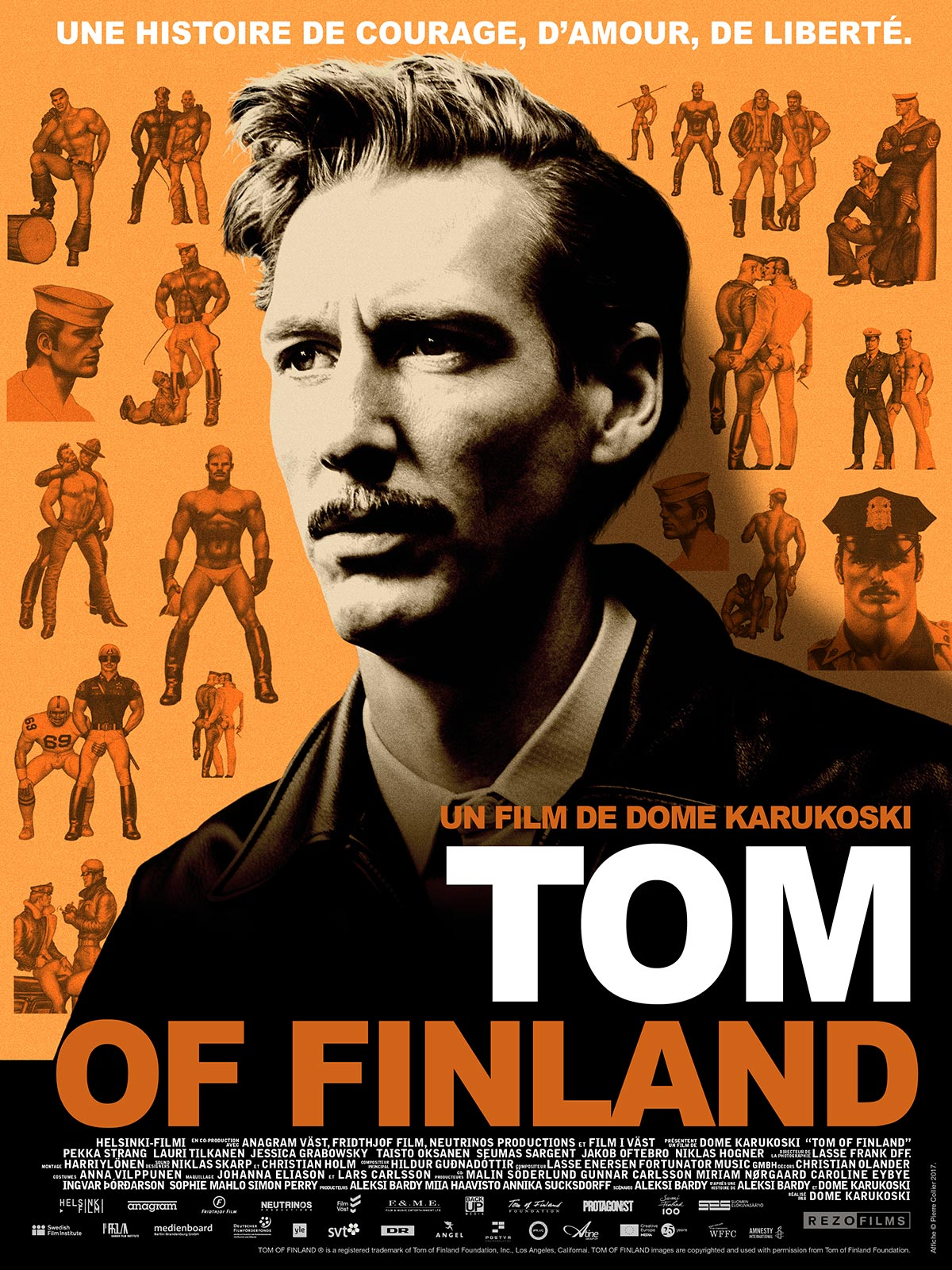 Bildresultat för tom of finland movie poster
