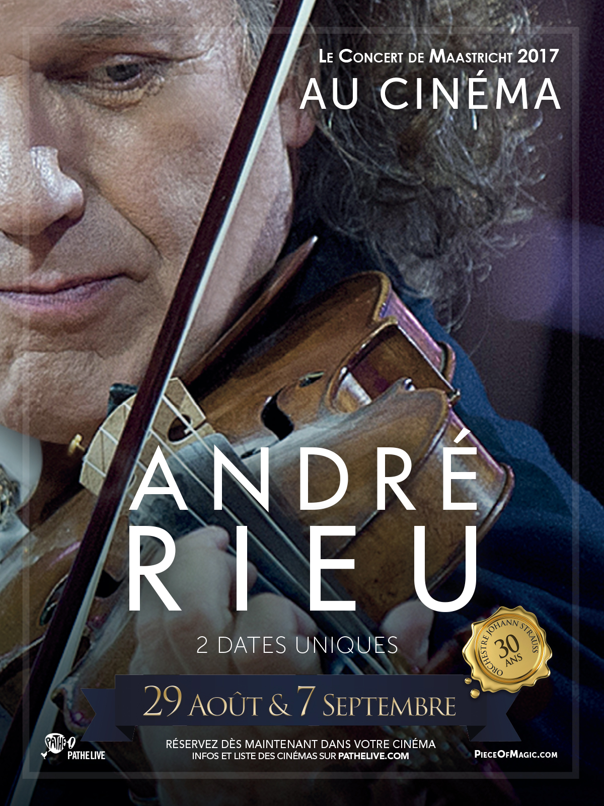 Télécharger ANDRE RIEU – LE CONCERT DE MAASTRICHT AU CINEMA (Pathé Live) HD VF Uploaded