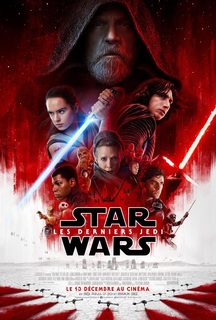 AfficheStar Wars - Les Derniers Jedi