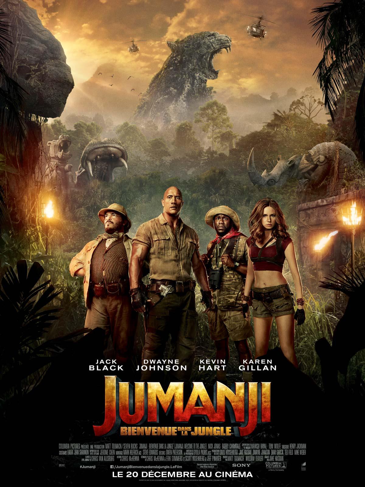 Jumanji : Bienvenue dans la jungle streaming