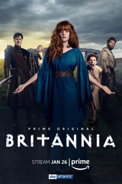 Affiche de la série Britannia