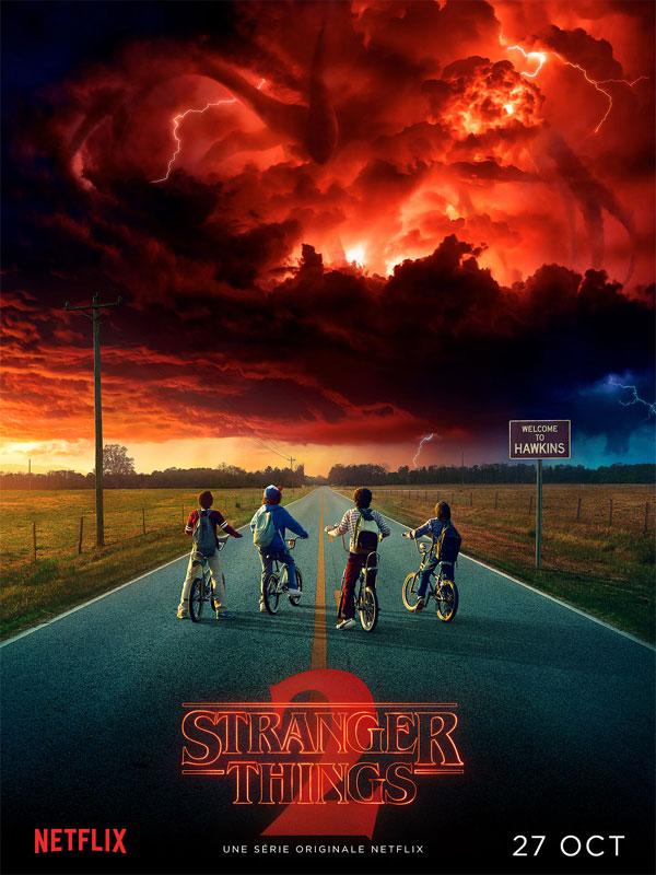 Affiche de la série Stranger Things