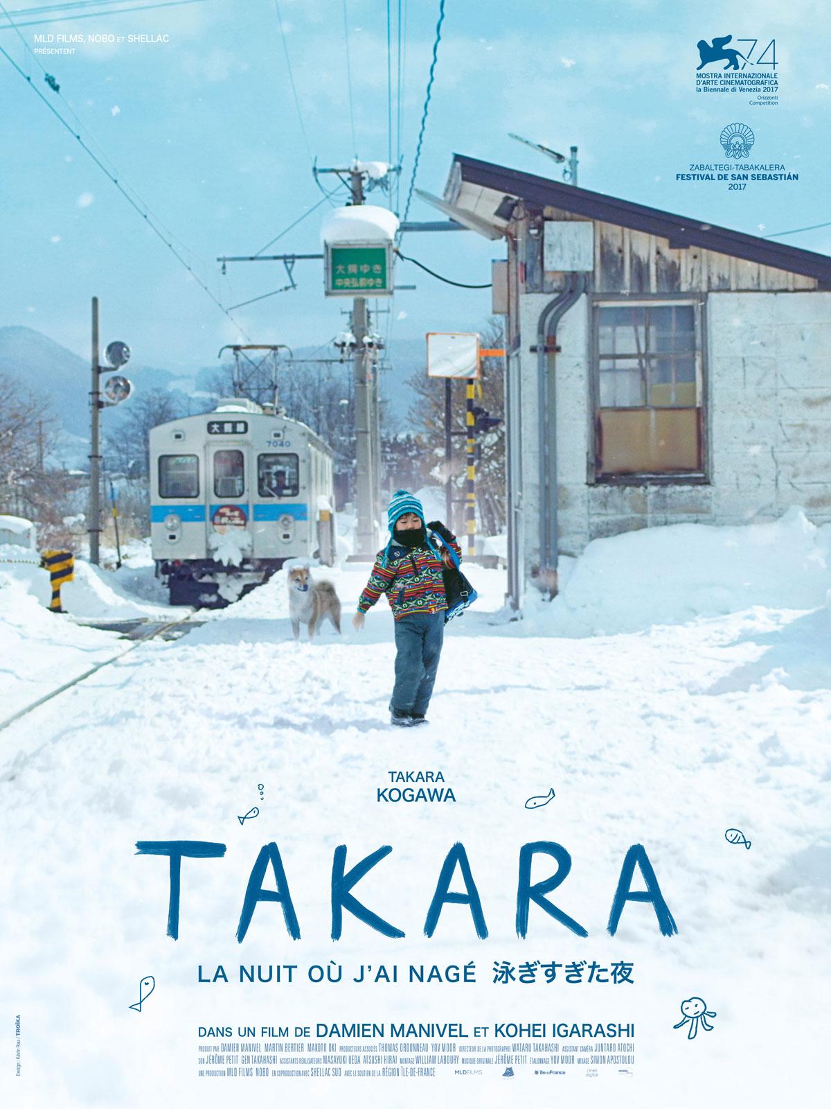 """cinéma asiatique film franco-japonais """"takara la nuit où j'ai nagé"""""""