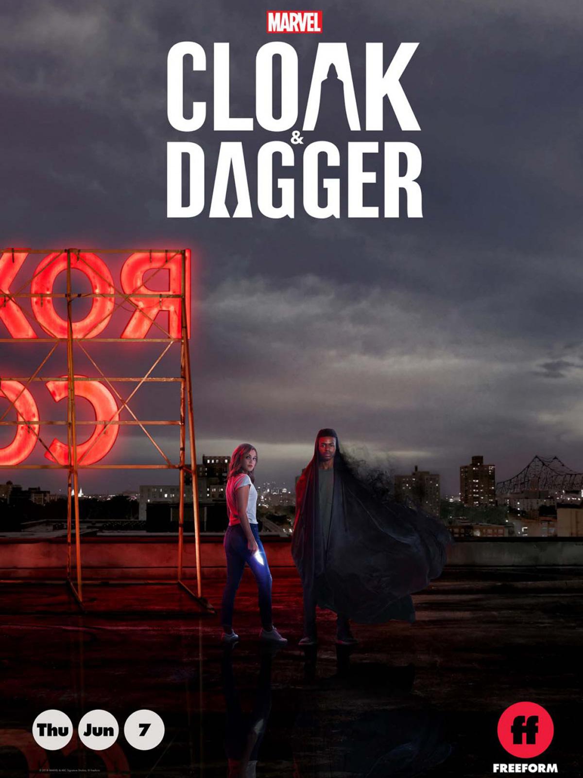Affiche de la série Marvel's Cloak And Dagger