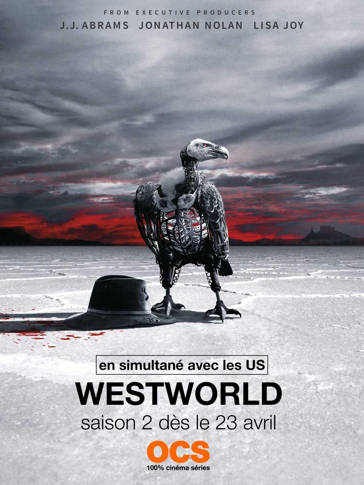 Affiche de la série Westworld