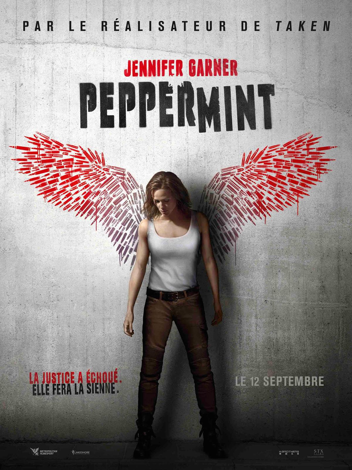 Peppermint en Blu Ray : Peppermint - Édition SteelBook - AlloCiné