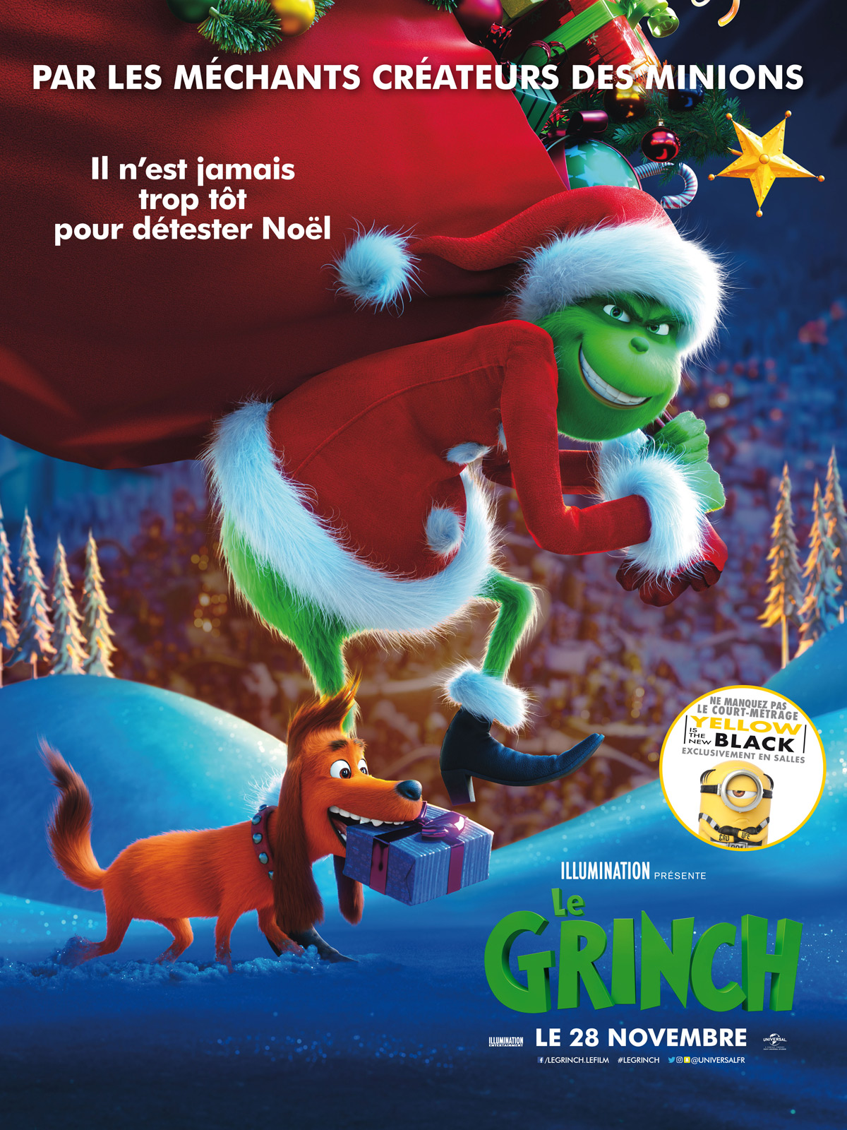 Le Grinch Film 2018 Allocine