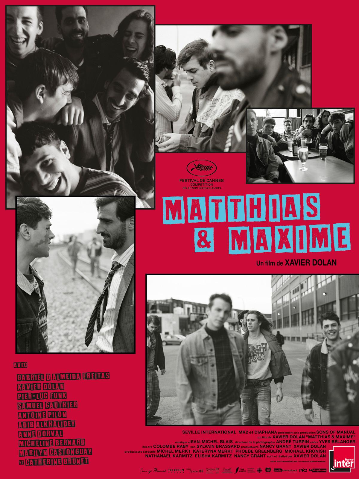 Achat Matthias & Maxime en DVD - AlloCiné