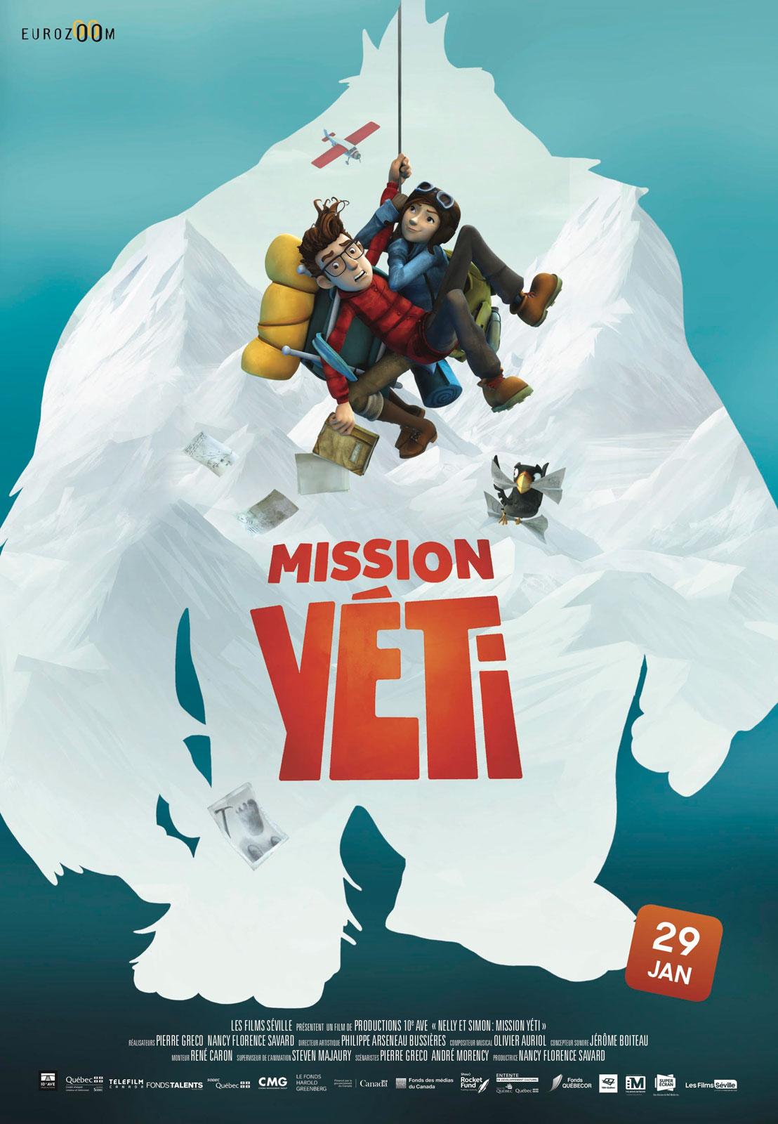 Affiche du film Mission Yéti