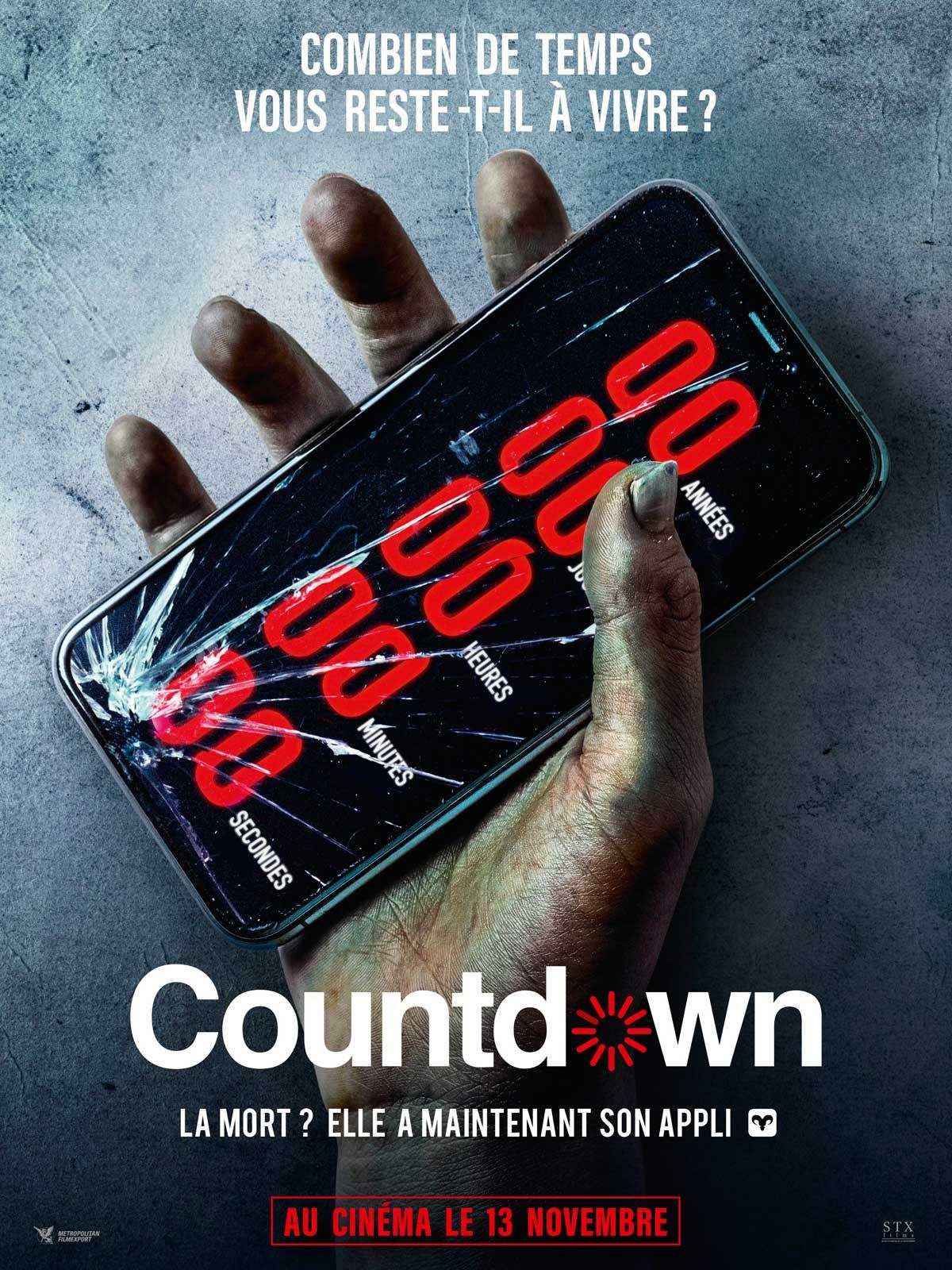 Achat Countdown en Blu Ray - AlloCiné