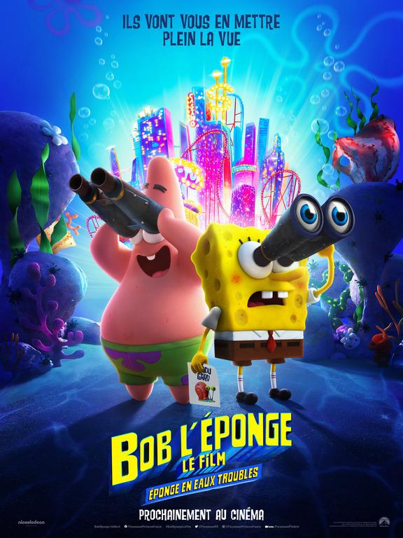 Bob l'éponge - Le film : Éponge en eaux troubles - film 2020 ...