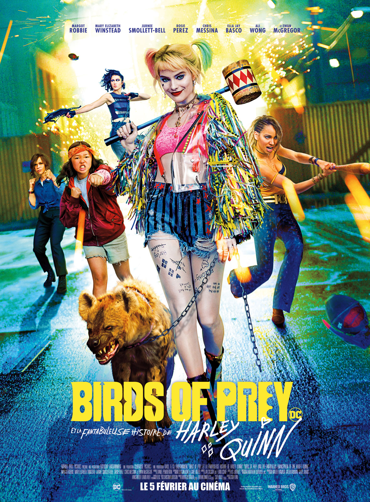 """Résultat de recherche d'images pour """"allociné birds of prey"""""""