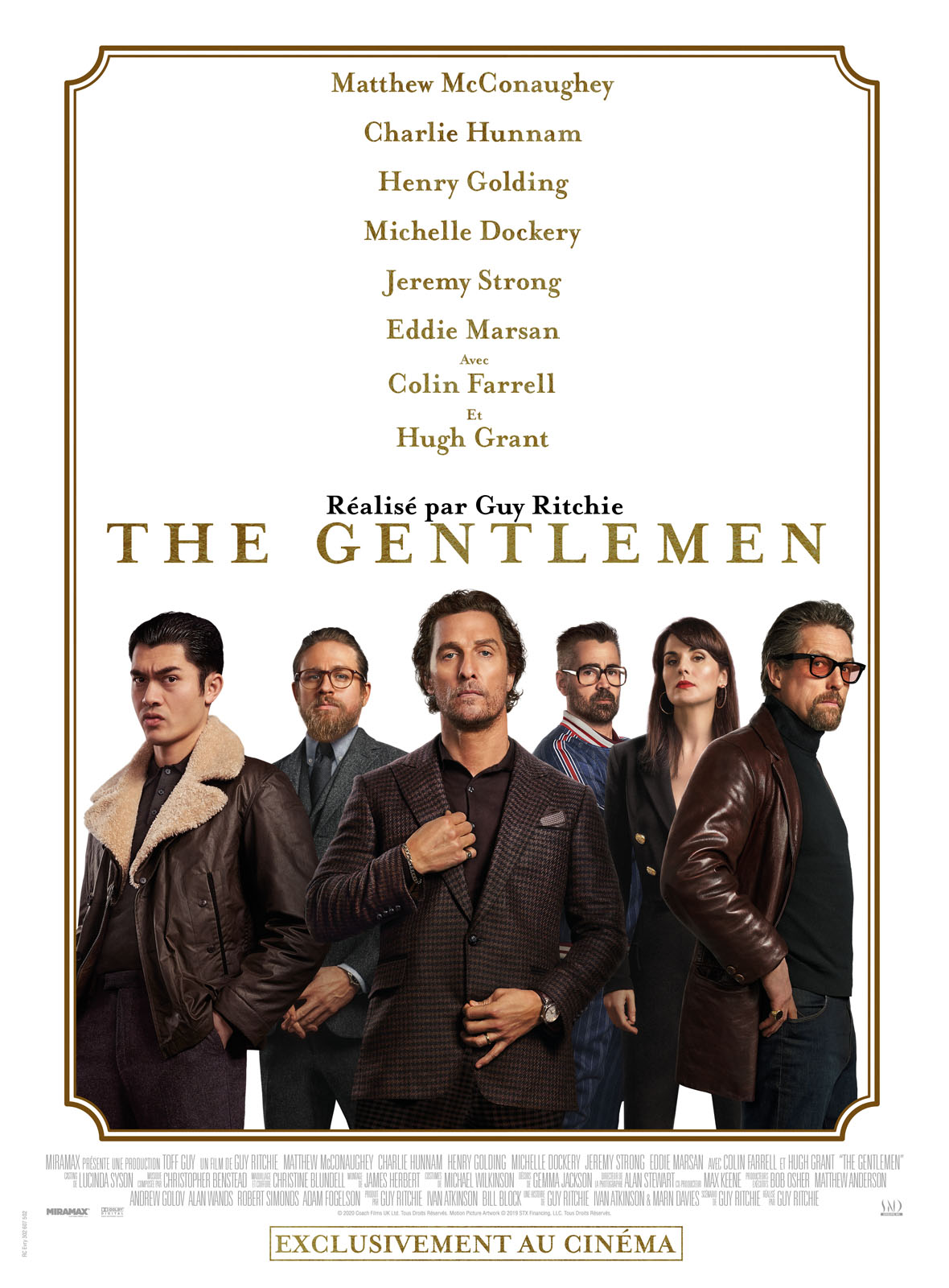 Achat The Gentlemen en Blu Ray - AlloCiné