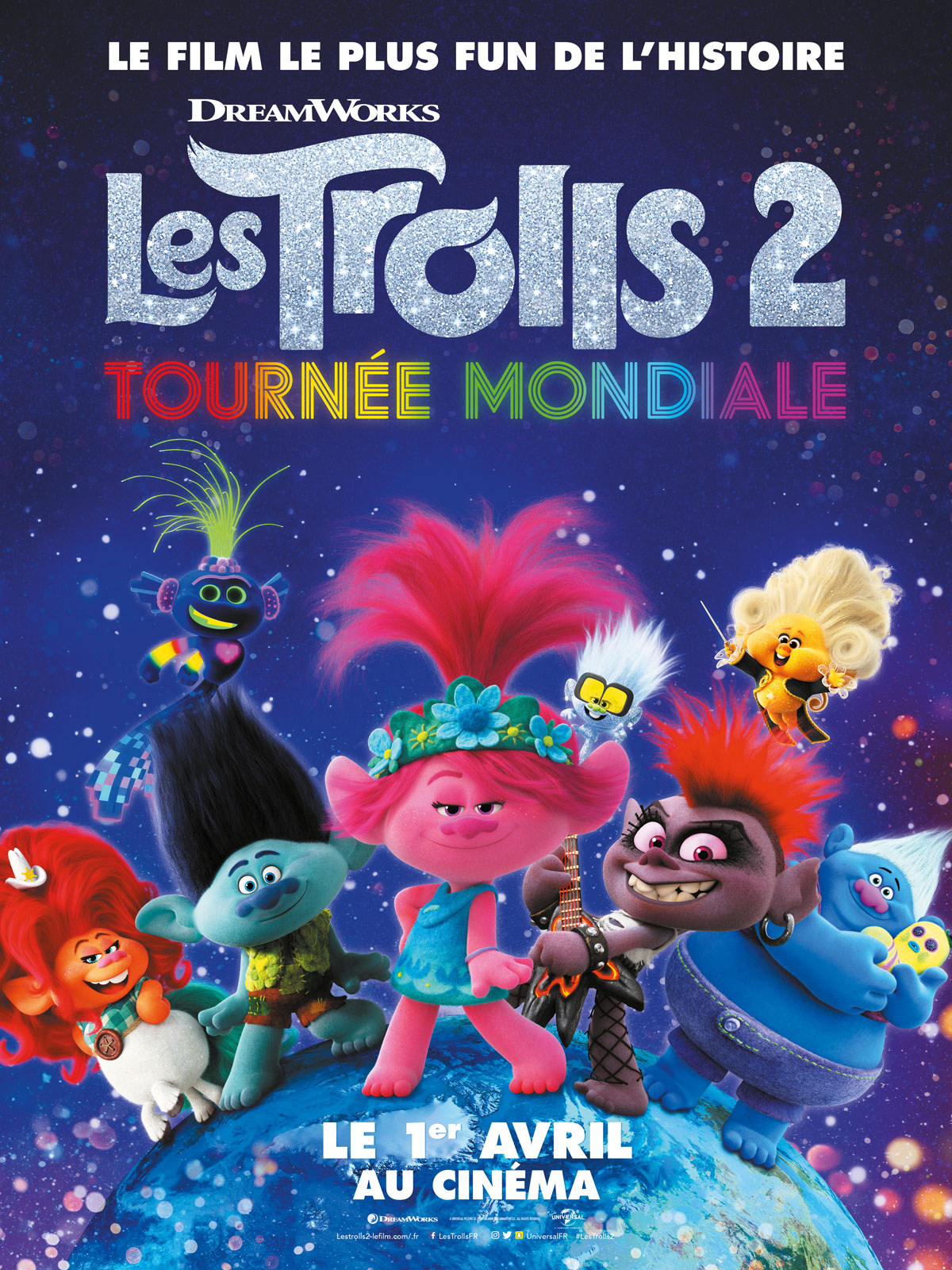 Les Trolls 2 Tournee Mondiale Film 2020 Allocine