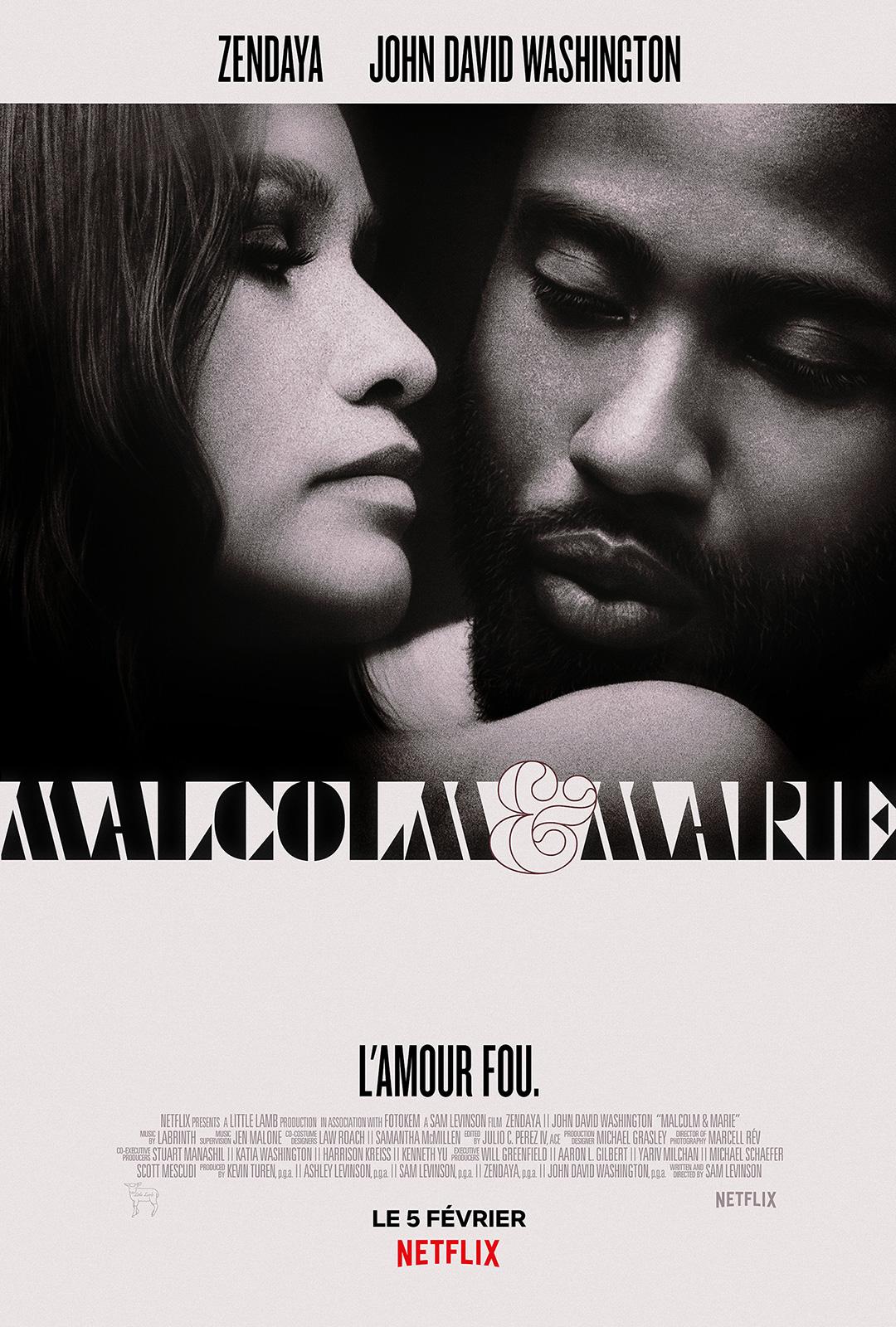 Malcolm & Marie - film 2021 - AlloCiné