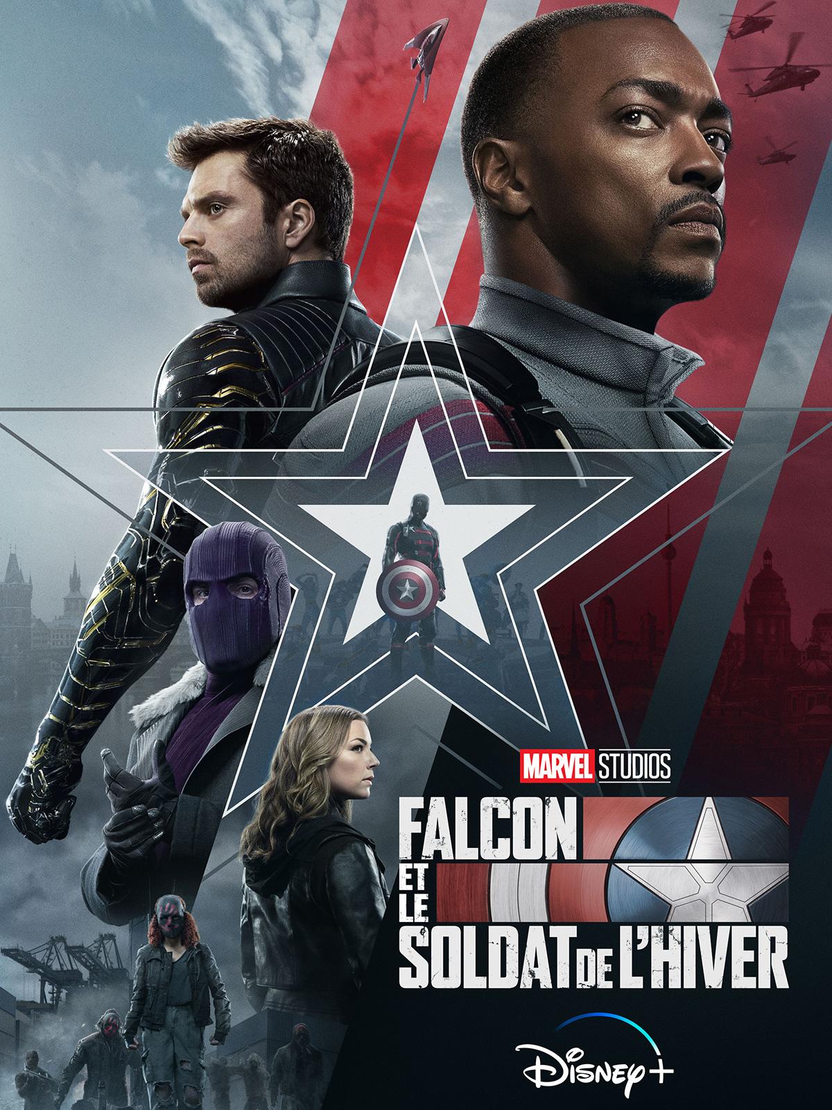 Falcon et le Soldat de l'Hiver - Série TV 2021 - AlloCiné