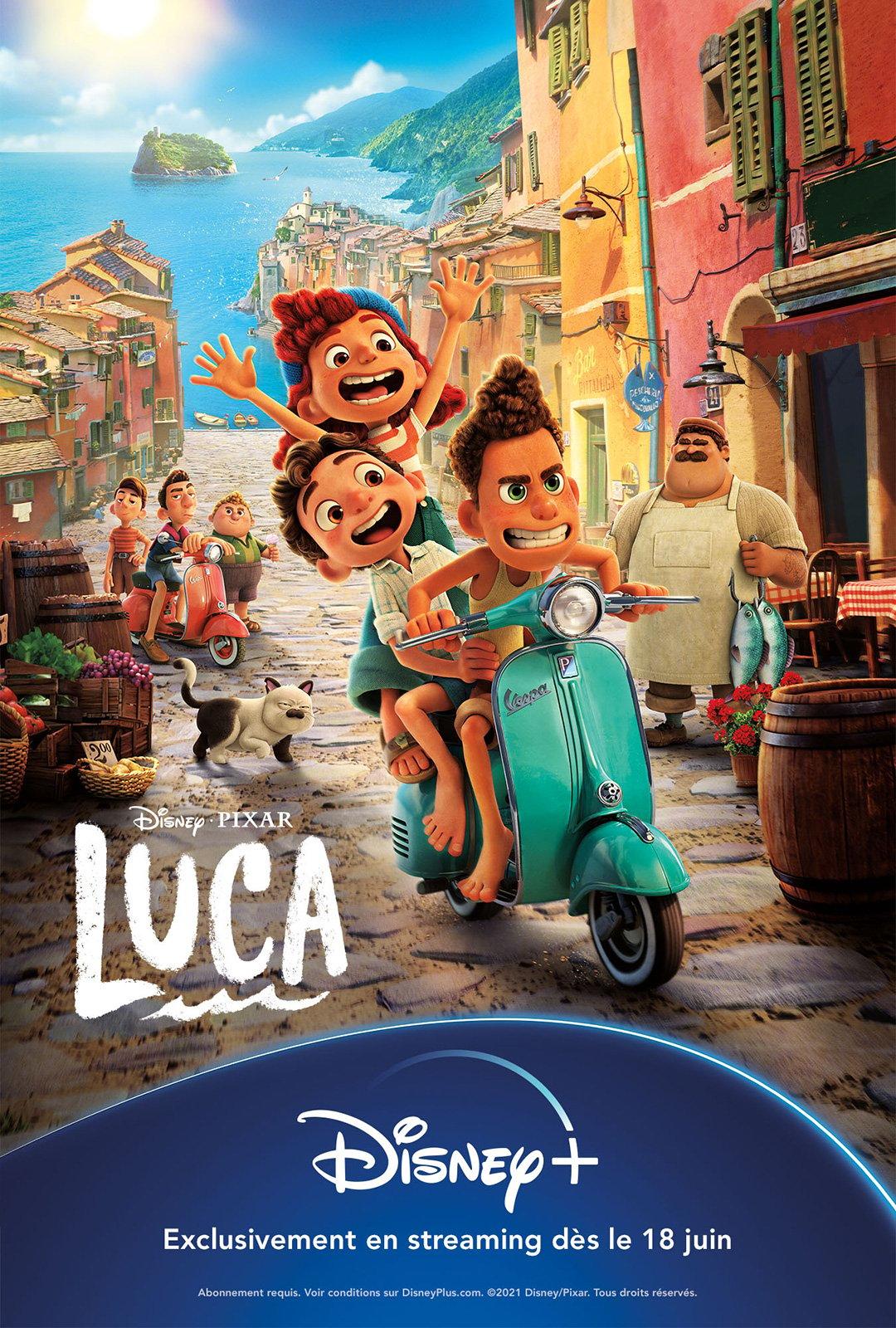 Luca - film 2021 - AlloCiné