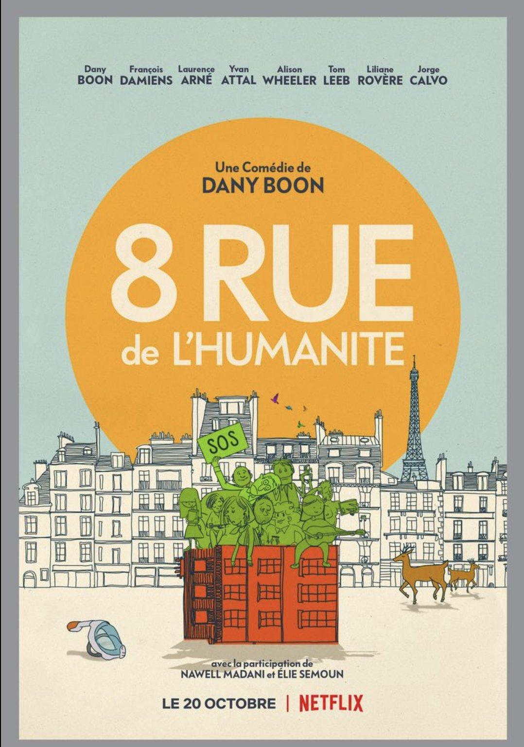 [好雷] 隔離好家在 8 Rue de l'Humanité(Netflix 法國片)