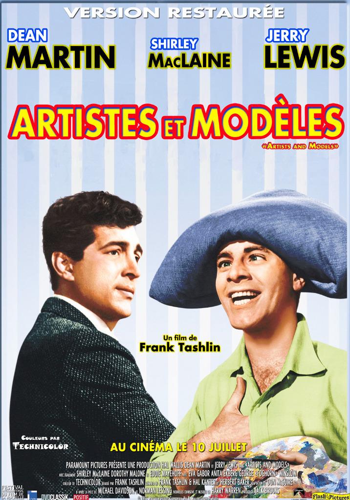 Artistes et modèles - film 1955 - AlloCiné