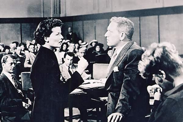 Katharine Hepburn et Spencer Tracy
