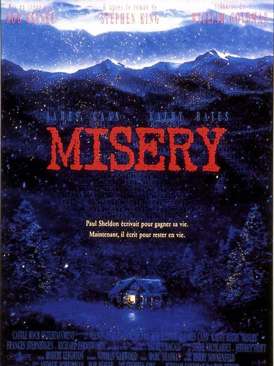 Misery : Affiche