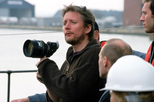 David MacKenzie (sur le tournage)