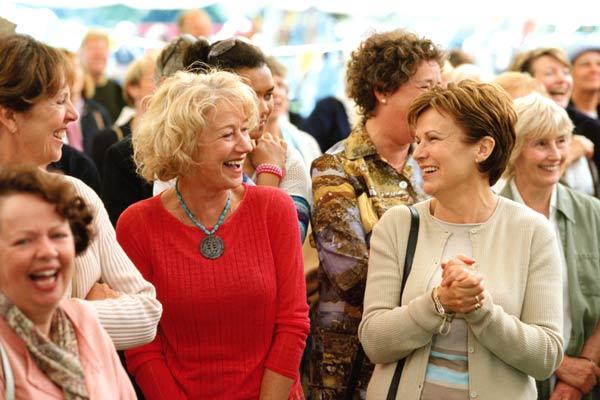 Penelope Wilton, Helen Mirren et Julie Walters