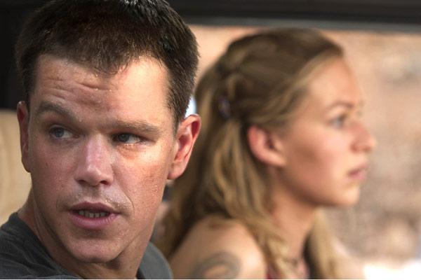 La Mort dans la peau : Photo Franka Potente, Matt Damon