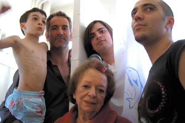 Les Petits fils : Photo Brice Cauvin, Guillaume Quatravaux, Ilan Duran Cohen, Jean-Philippe Sêt, Reine Ferrato