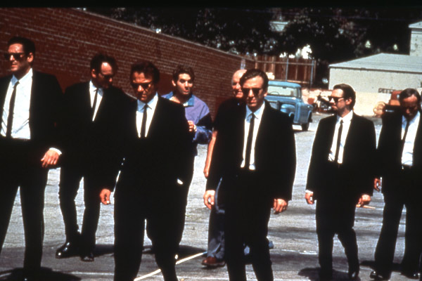 Reservoir Dogs : Photo Chris Penn, Edward Bunker, Harvey Keitel, Michael Madsen, Steve Buscemi