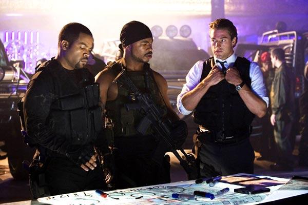 Ice Cube, Michael Roof et Scott Speedman