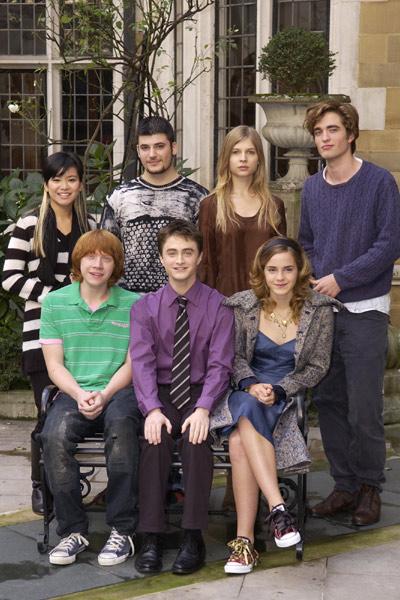 Harry Potter et la Coupe de Feu : Photo Clémence Poésy, Daniel Radcliffe, Emma Watson, Katie Leung, Robert Pattinson