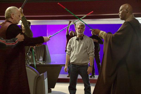 Star Wars : Episode III - La Revanche des Sith : Photo Ian McDiarmid, Samuel L. Jackson