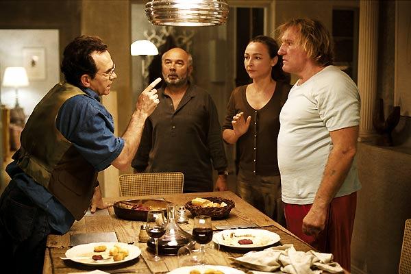 Hubert Saint-Macary, Gérard Depardieu, Catherine Frot et Gérard Jugnot