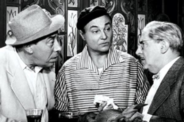 Honoré de Marseille : Photo Andrex, Fernandel, Henri Crémieux, Maurice Regamey