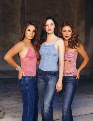 Charmed : Photo Alyssa Milano, Holly Marie Combs, Rose McGowan