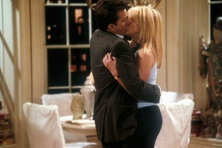 Spin City : Photo Charlie Sheen, Heather Locklear