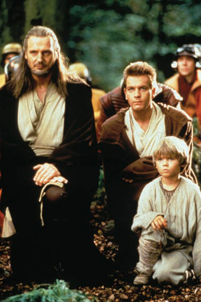 Star Wars : Episode I - La Menace fantôme : Photo Ewan McGregor, Jake Lloyd, Liam Neeson