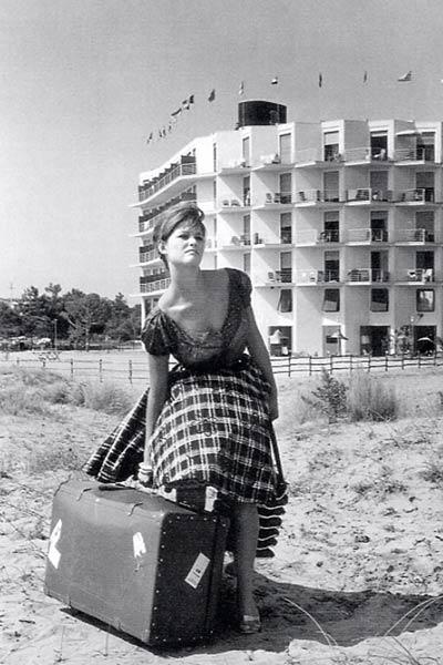 La Fille à la valise : Photo Claudia Cardinale, Valerio Zurlini