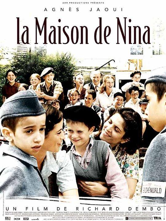 La Maison de Nina : Affiche Agnès Jaoui, Richard Dembo