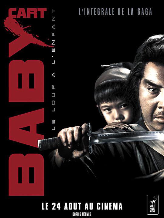 Baby Cart la saga : Affiche Kenji Misumi, Tomisaburo Wakayama