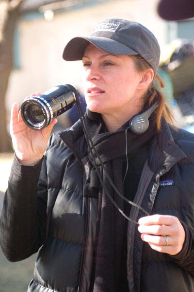 Niki Caro (sur le tournage)