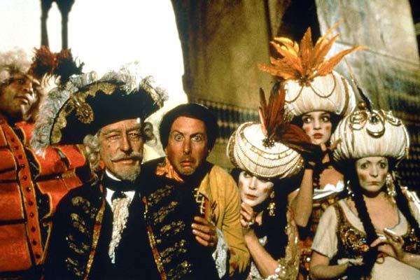 Les Aventures du baron de Münchausen : Photo Eric Idle, John Neville