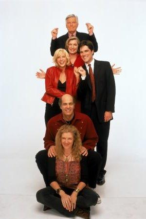 Dharma et Greg : Photo Alan Rachins, Jenna Elfman, Mimi Kennedy, Mitchell Ryan, Susan Sullivan