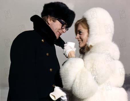 Michael Caine et Françoise Dorléac